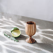 Посуда handmade. Livemaster - original item Wooden glass made of elm wood (elm) R35. Handmade.