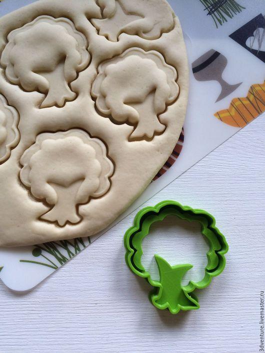 Кухня ручной работы. Ярмарка Мастеров - ручная работа. Купить Форма для печенья Дерево. Handmade. Разноцветный, формочка для печенья