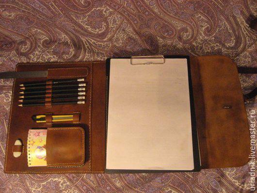 Мужские сумки ручной работы. Ярмарка Мастеров - ручная работа. Купить Сумка-планшет из натуральной кожи ручной работы. Handmade.