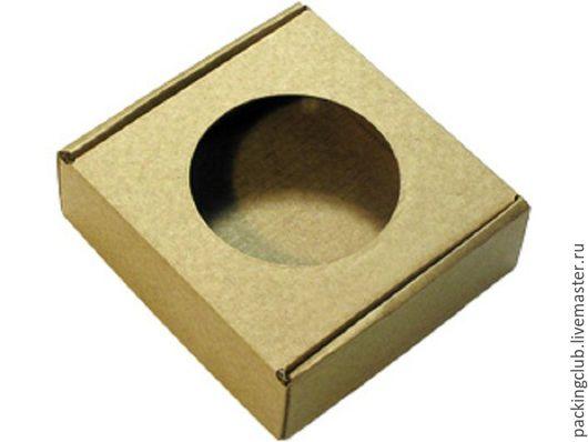 Упаковка ручной работы. Ярмарка Мастеров - ручная работа. Купить Подарочная упаковка 96х96х30, коричневая. Handmade. Коричневый, упаковка