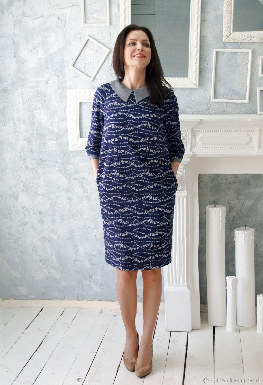 3e0d8f216ba Платье миди Джемма – купить в интернет-магазине на Ярмарке Мастеров ...