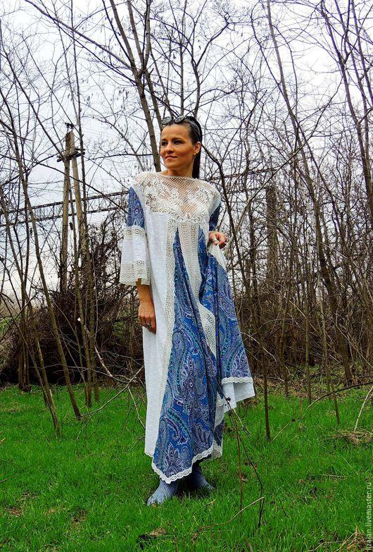 платье бохо, стиль бохо, бохо стиль.летнее бохо, летнее платье, платье с кружевом, платье макси, платье из льна, лен, хлопок, бохо стиль