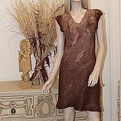 """Одежда ручной работы. Ярмарка Мастеров - ручная работа Платье """"Горячий шоколад"""". Handmade."""