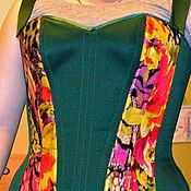 """Одежда ручной работы. Ярмарка Мастеров - ручная работа Корсет """"Тропики"""". Handmade."""