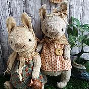 Куклы и игрушки ручной работы. Ярмарка Мастеров - ручная работа Дуняша и Маняша.. Handmade.