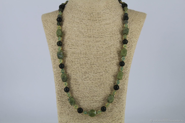 Necklaces & Beads handmade. Livemaster - handmade. Buy Beads from natural stones ( coil, aventurine).Handmade jewelry
