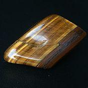 Фен-шуй и эзотерика handmade. Livemaster - original item Tiger`s eye polished stone, South Africa. Handmade.