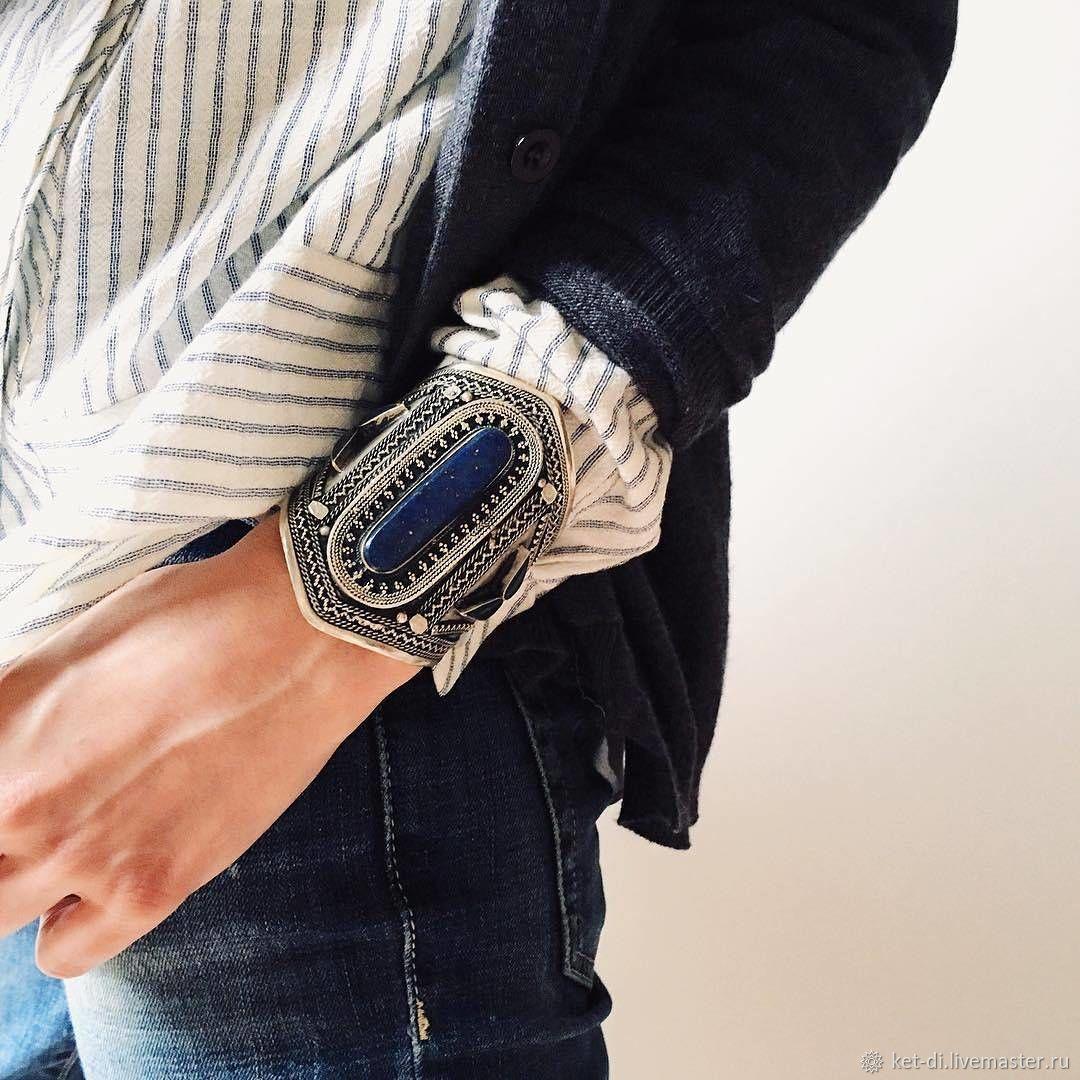 Bracelets with lapis lazuli, agate, carnelian stones, Hard bracelet, Moscow,  Фото №1