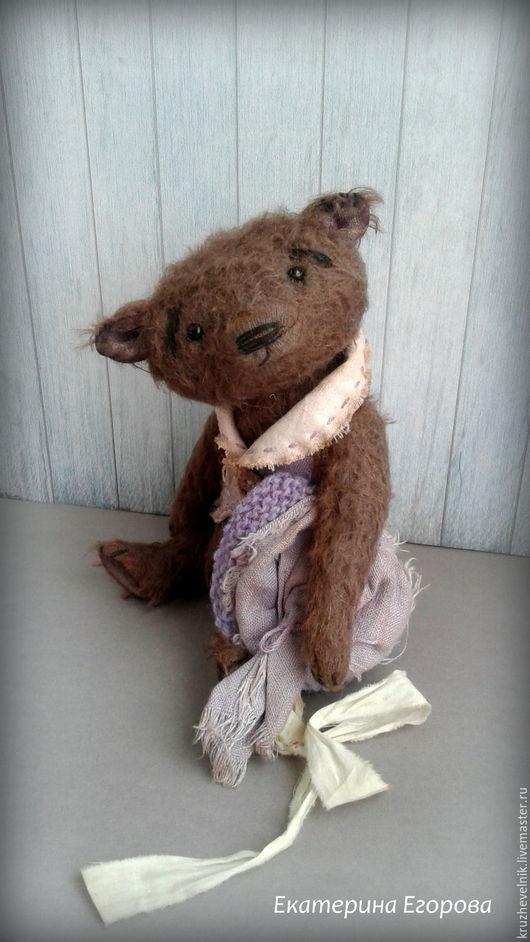 Мишки Тедди ручной работы. Ярмарка Мастеров - ручная работа. Купить Путешественник  ВЕнюшка мишка тедди. Handmade. Коричневый