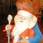 Куклы и игрушки ручной работы. Ярмарка Мастеров - ручная работа Дед мороз из детства Продан. Handmade.