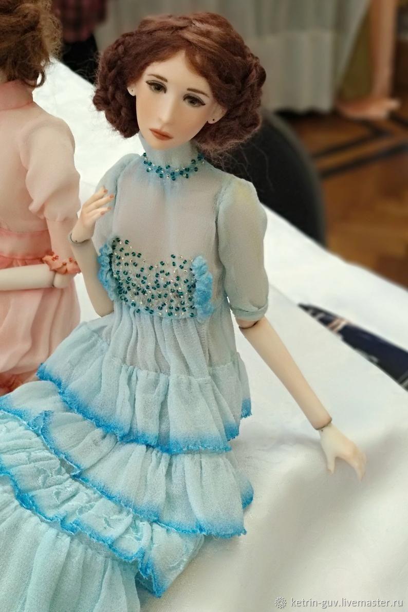 Коллекционные куклы ручной работы. Ярмарка Мастеров - ручная работа. Купить Авторская, коллекционная, фарфоровая кукла Кэтрин Гюв. Handmade.