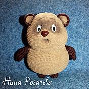 Куклы и игрушки ручной работы. Ярмарка Мастеров - ручная работа Винни-пух. Медведь вязаный. Handmade.