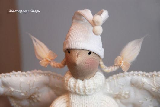 """Куклы Тильды ручной работы. Ярмарка Мастеров - ручная работа. Купить Юкси :) Ангел Тильда Коллекция """"Будьте моим... Ангелом!"""". Handmade."""