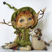 Куклы и игрушки ручной работы. Ярмарка Мастеров - ручная работа Флори и Брунс. Коллекционная кукла. Handmade.