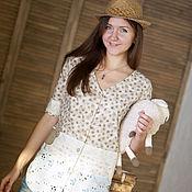 """Одежда ручной работы. Ярмарка Мастеров - ручная работа Рубашка """"Кантри"""". Handmade."""