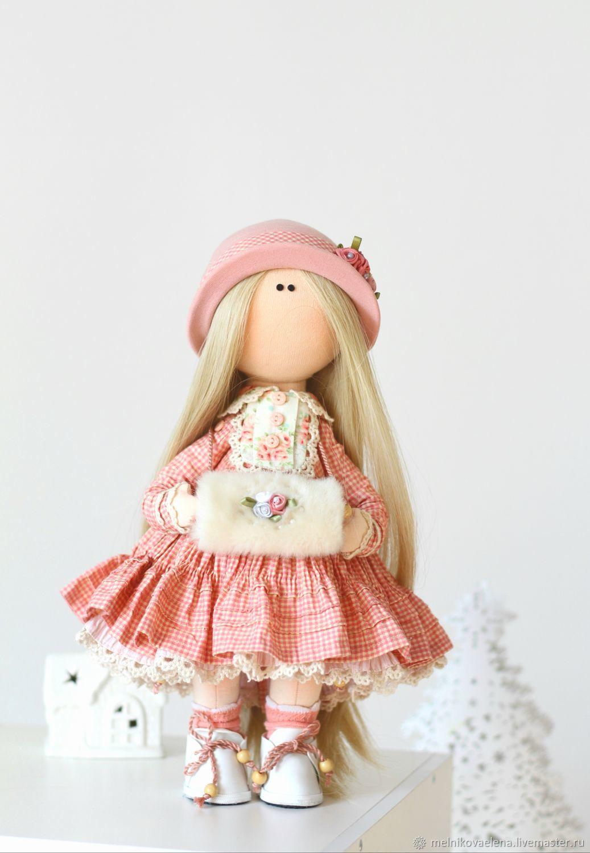 Зимняя сказка .интерьерная текстильная кукла, Большеножка, Новосибирск,  Фото №1