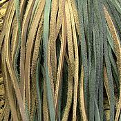Материалы для творчества ручной работы. Ярмарка Мастеров - ручная работа Шнур кожаный для украшений. Handmade.