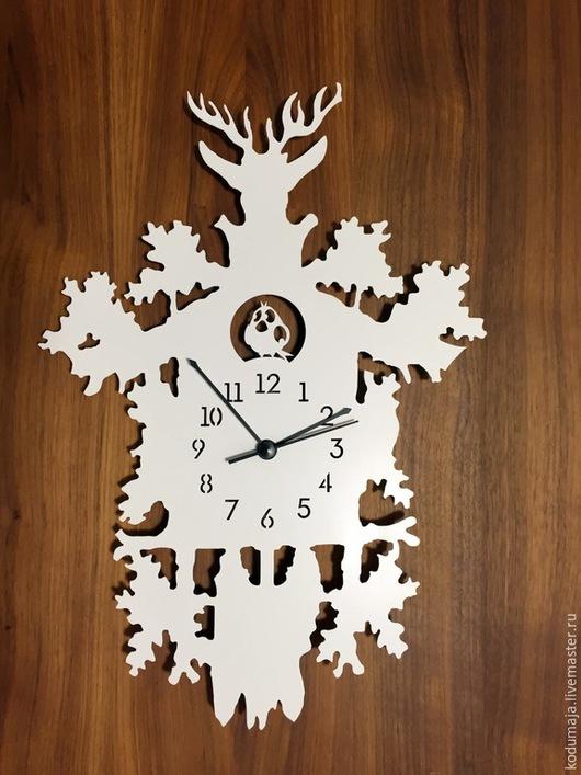 """Часы для дома ручной работы. Ярмарка Мастеров - ручная работа. Купить Часы 29/41см """"Lugu"""". Handmade. Часы настенные"""