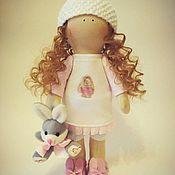 Куклы и игрушки ручной работы. Ярмарка Мастеров - ручная работа Интерьерная куколка Заинька. Handmade.