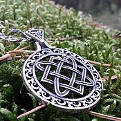 "Украшения handmade. Livemaster - original item Unilateral Pendant / Charm ""Star Lada"" from silver 925. Handmade."