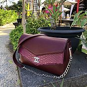 Сумки и аксессуары handmade. Livemaster - original item Chanel Python leather handbag. Handmade.