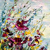 Картины и панно handmade. Livemaster - original item oil painting Summer landscape. Handmade.