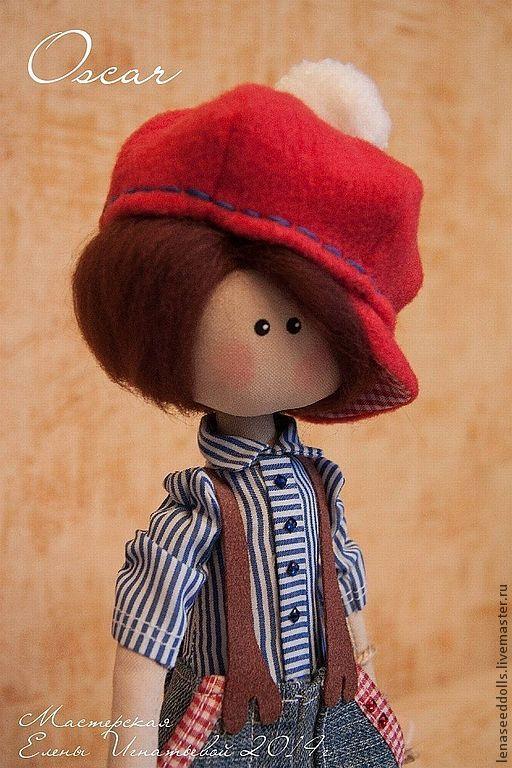 Коллекционные куклы ручной работы. Ярмарка Мастеров - ручная работа. Купить - Oscar -. Handmade. Кукла ручной работы, подарок, шерсть
