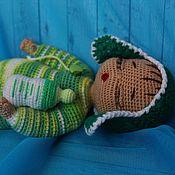 Куклы и игрушки handmade. Livemaster - original item Bobblehead Andrei. Doll with blanket, pacifier, bottle, clothes.. Handmade.