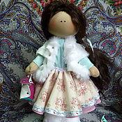 Куклы и игрушки ручной работы. Ярмарка Мастеров - ручная работа Таша. Авторская интерьерная текстильная кукла. Handmade.
