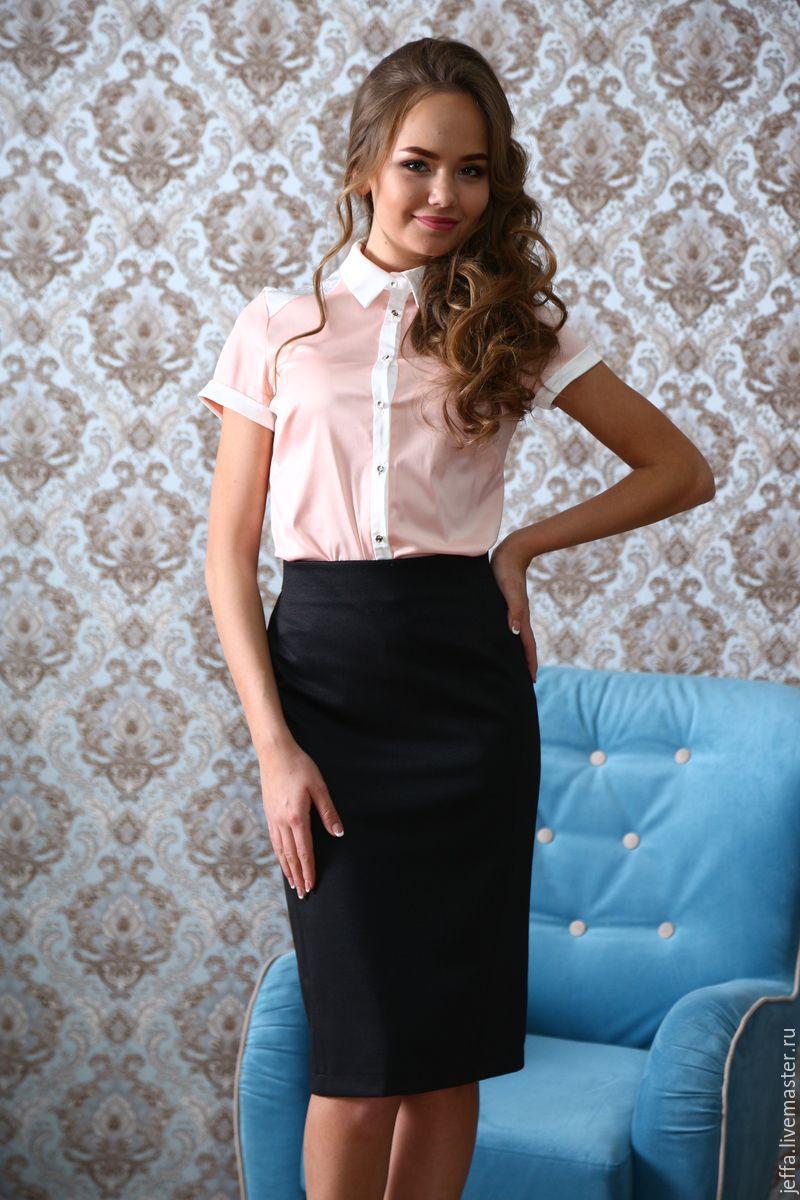 Купить блузку со стразами в интернет магазине