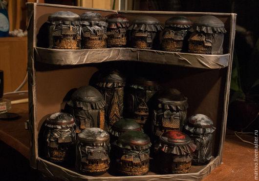 """Кухня ручной работы. Ярмарка Мастеров - ручная работа. Купить """"Город специй"""". Handmade. Комбинированный, стекло"""