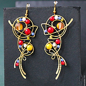 Украшения handmade. Livemaster - original item Metropolis Earrings. Handmade.