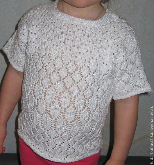 Одежда для девочек, ручной работы. Ярмарка Мастеров - ручная работа. Купить Ажурная кофточка для девочки. Handmade. Кофточка для девочки
