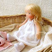 Вальдорфские куклы и звери ручной работы. Ярмарка Мастеров - ручная работа Лиза, 30 см. Handmade.