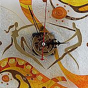 """Для дома и интерьера ручной работы. Ярмарка Мастеров - ручная работа Часы """"Танец"""". Handmade."""