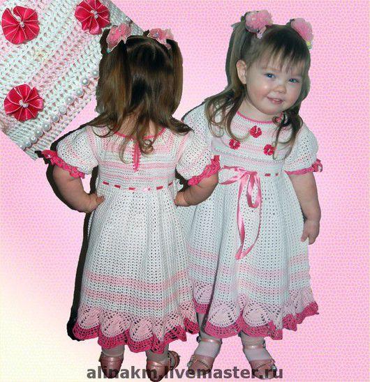 """Одежда для девочек, ручной работы. Ярмарка Мастеров - ручная работа. Купить Авторское платье """"Розовая мечта"""". Handmade. Авторское платье"""