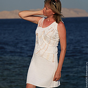 """Одежда ручной работы. Ярмарка Мастеров - ручная работа Платье """"жемчужный зов моря"""". Handmade."""