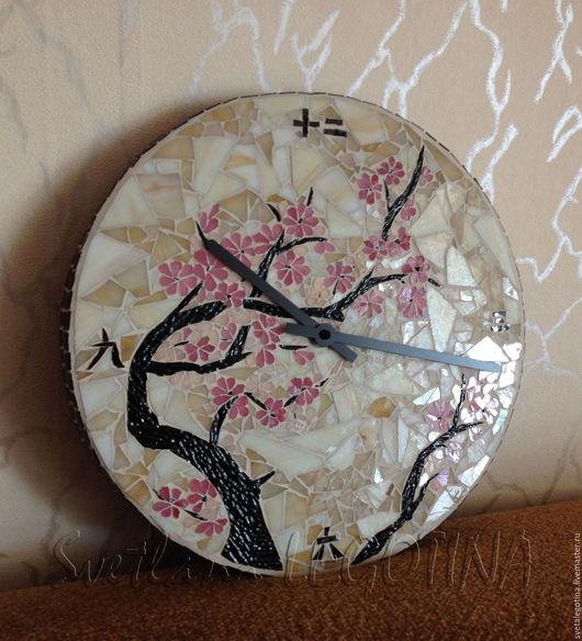 Часы настенные `Сакура`