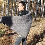 Аксессуары handmade. Livemaster - original item Down scarf