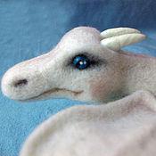 Куклы и игрушки ручной работы. Ярмарка Мастеров - ручная работа Войлочный дракон. Handmade.