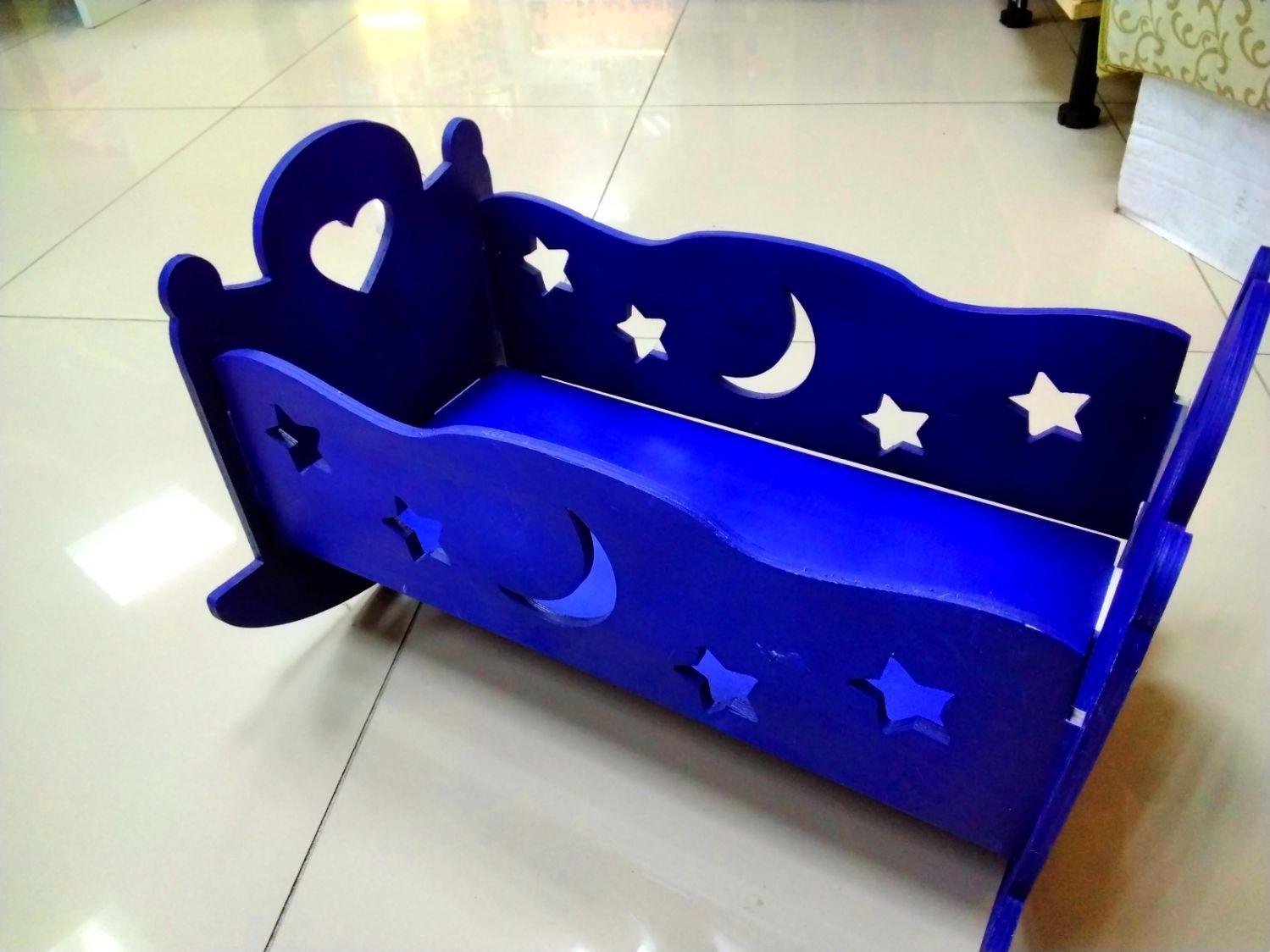 Люлька-кроватка для куклы, Мебель для кукол, Калининград,  Фото №1