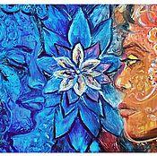 Картины ручной работы. Ярмарка Мастеров - ручная работа Картина маслом Магия любви. Handmade.