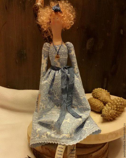 Куклы Тильды ручной работы. Ярмарка Мастеров - ручная работа. Купить Фея морских берегов в стиле Тильда. Handmade. Тильда