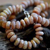 Necklace handmade. Livemaster - original item SOLAR STONE. beads. Handmade.