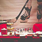 """Подарки к праздникам ручной работы. Ярмарка Мастеров - ручная работа Оформление корпоративной вечеринки """"Легенда 17"""". Handmade."""