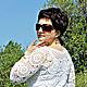 Платья ручной работы. Платье вязаное крючком. Вязание для Вас (Наталья Фисунова). Интернет-магазин Ярмарка Мастеров. Платье вязанное