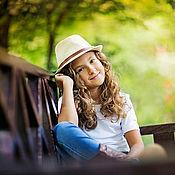 Фото ручной работы. Ярмарка Мастеров - ручная работа Детская фотопрогулка с Олесей. Handmade.