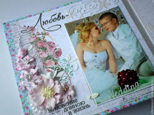 Ярмарка мастеров ручная работа Елены Колеговой Свадебный Фотоальбом на заказ