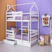 Для дома и интерьера handmade. Livemaster - original item Bed house bunk