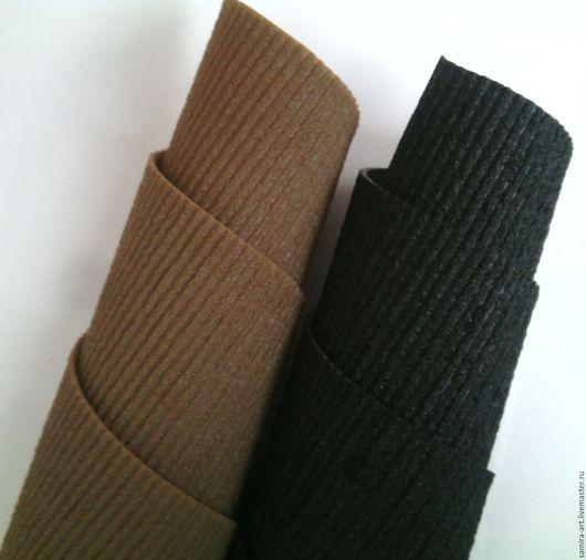 """Валяние ручной работы. Ярмарка Мастеров - ручная работа. Купить Профилактика """"Svig Trek"""" 2мм. Handmade. Черный, подошва для ботинок"""